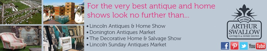 Antiques Fairs & Dealers Advertising Banners.