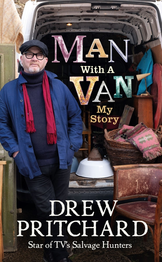 Drew Pritchard - MAN WITH A VAN out 11 Feb