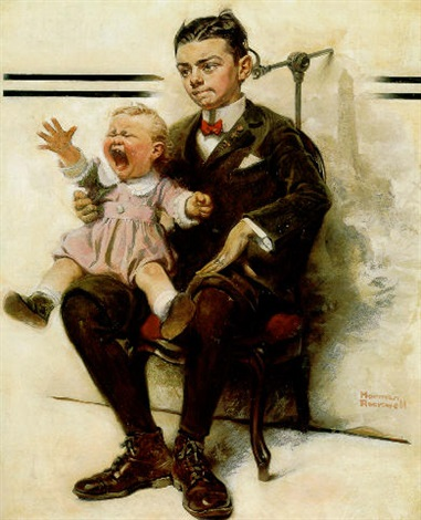 Antiques News & Fairs - WANTED: Information on two stolen Normnab Rockwell's paintings