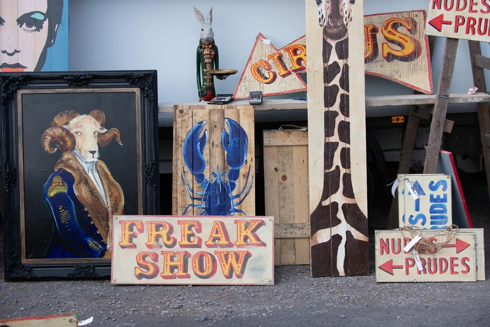 Antiques News & Fairs - The Giant Shepton Flea Market - 16 August 2020