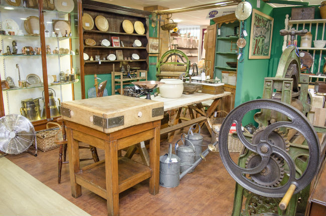 Antiques News & Fairs - Hemswell Antiques Centres Launch Lavish New Website