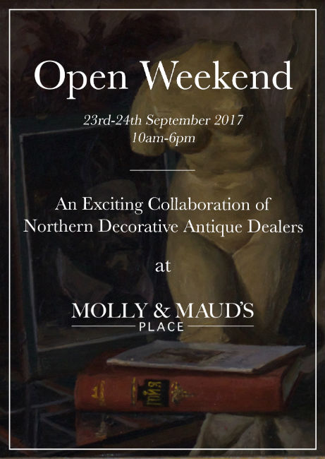 Antiques News & Fairs - Collaboration Weekend at Molly & Maud's Place