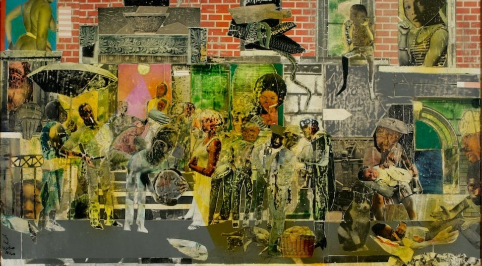 Romare Bearden, On Such a Night as This, 1975