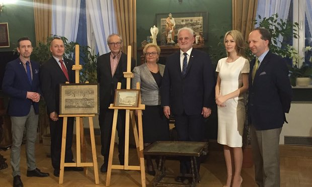 Antiques News & Fairs - Son of Nazi War Criminal Returns Stolen Art to Poland