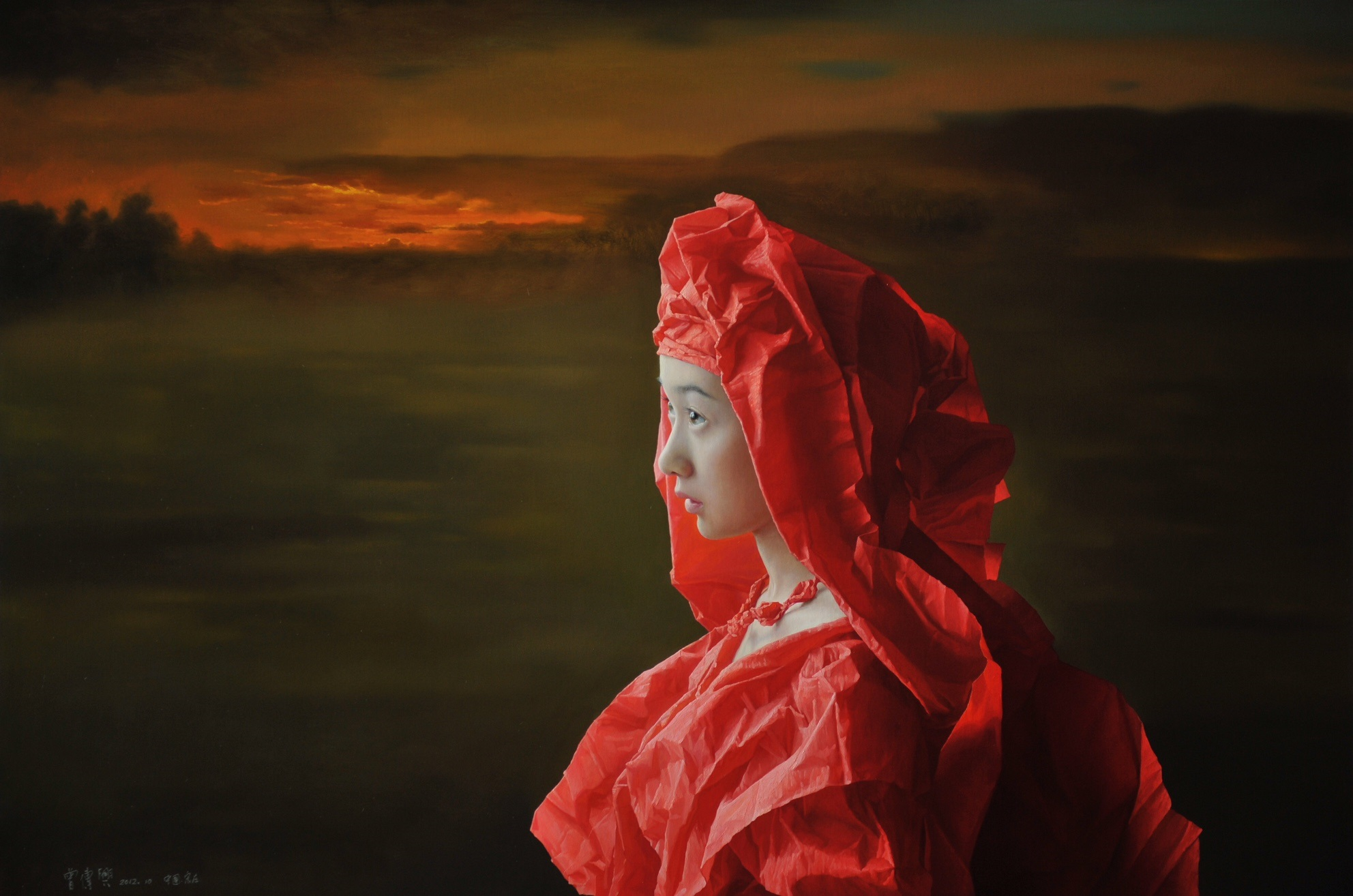 Red Paper Bride, The Setting Sun